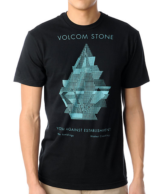 Volcom Fructure Black T-Shirt