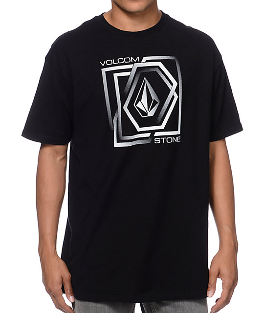 Volcom Gandam Black & White T-Shirt