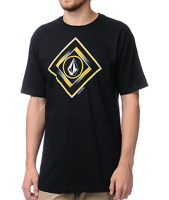 Volcom Gee Square Black T-Shirt