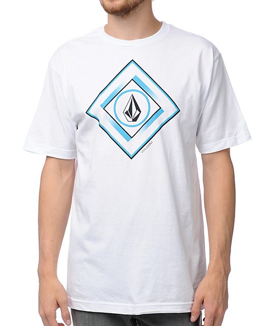 Volcom Gee Square White T-Shirt