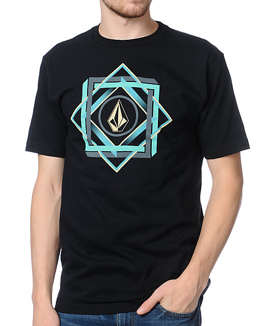 Volcom Georama Black T-Shirt