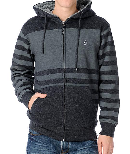 Volcom sherpa hoodie