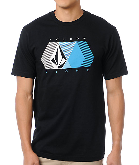 Volcom Grade Mesh Black T-Shirt