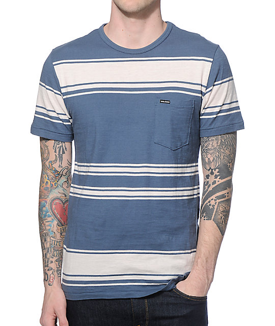 Volcom Hayward Stripe Pocket T-Shirt