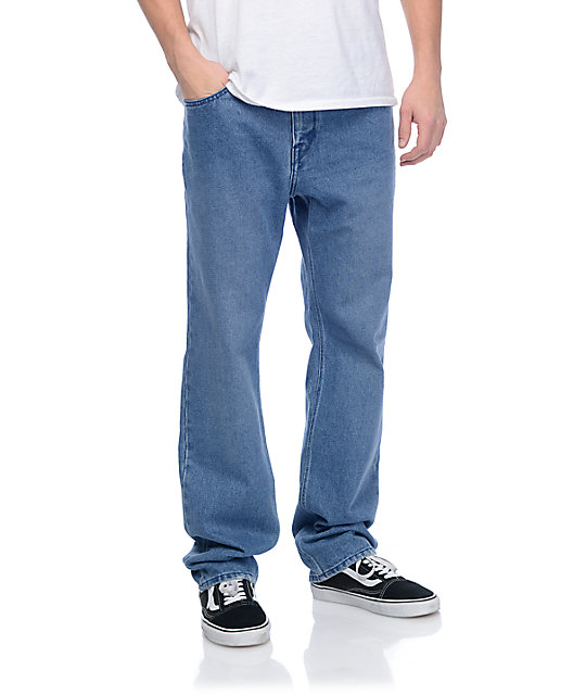 Volcom Heavy Rigid Blue Denim Jeans