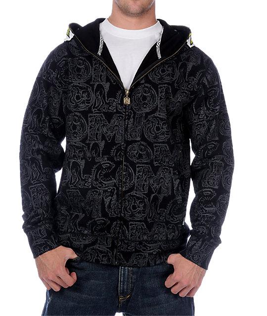 Volcom Highwear Black Hoodie
