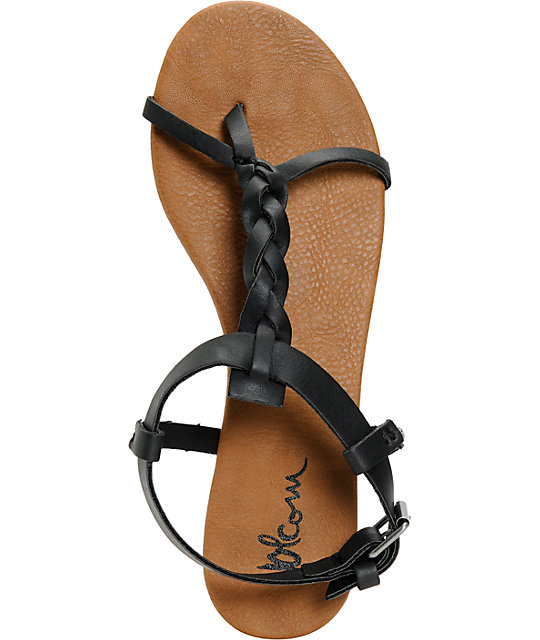 Volcom Hot Summer Day Black & Brown Sandals