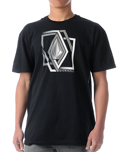 Volcom Illusion Black T-Shirt