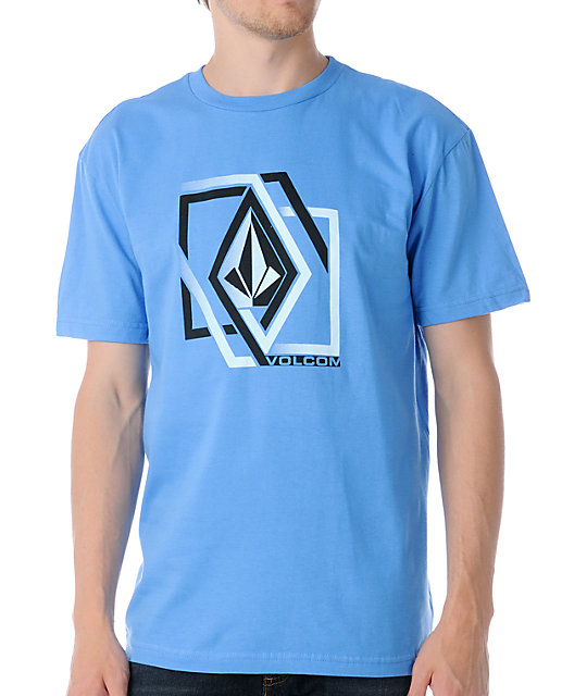 Volcom Illusion Blue T-Shirt