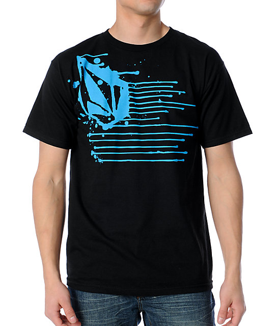 Volcom Ink Blot Black T-Shirt
