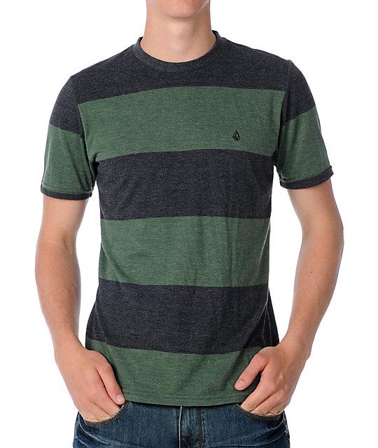 Volcom Innercircle Green Crew T-Shirt