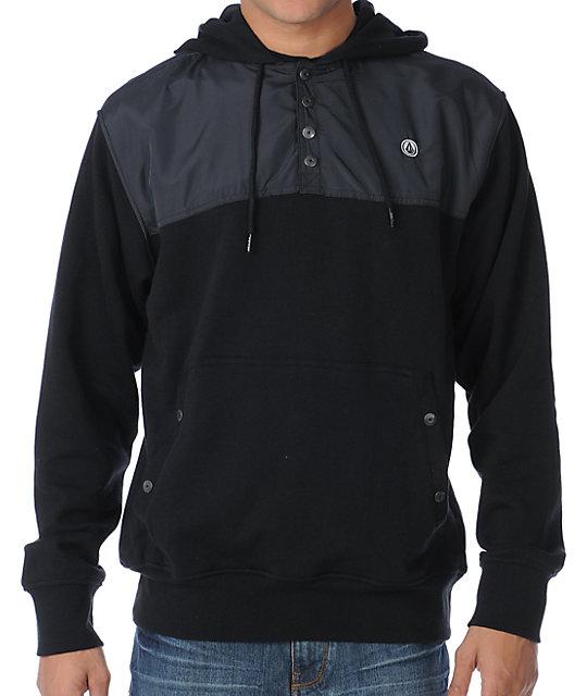 Volcom Jumper Black Pullover Hoodie