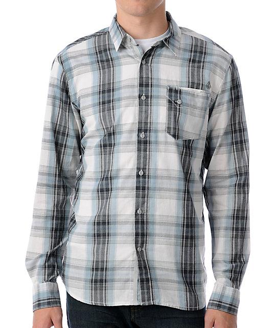 Volcom Kidder White Woven Shirt