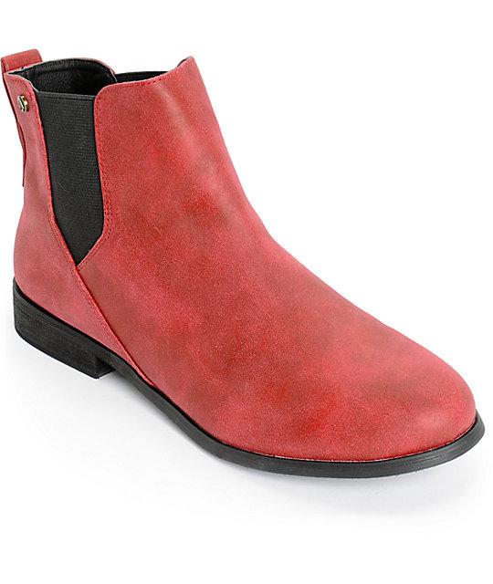 Volcom Killer Burgundy Boots