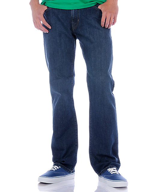 Volcom Kinkade Worn Regular Fit Jeans