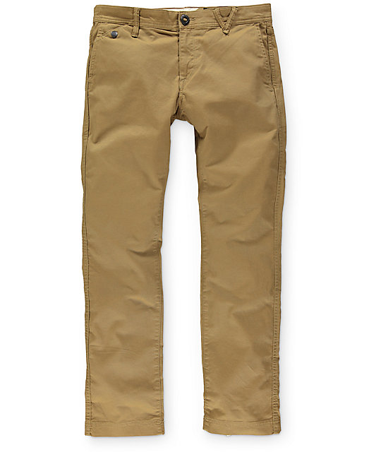Volcom Kinney Slim Fit Chino Pants