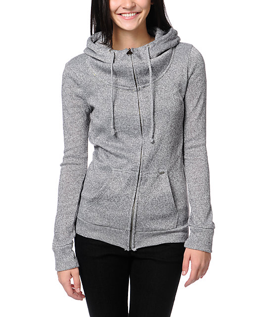 Volcom Knit Me A Zip Up Hoodie
