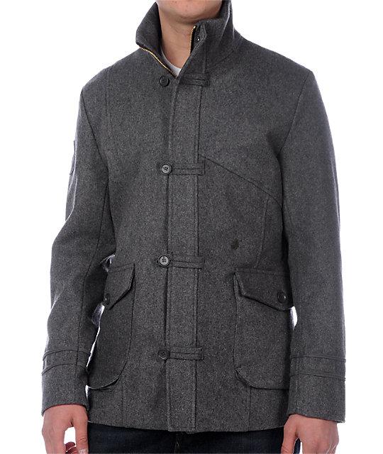 Volcom La Cave Grey Jacket