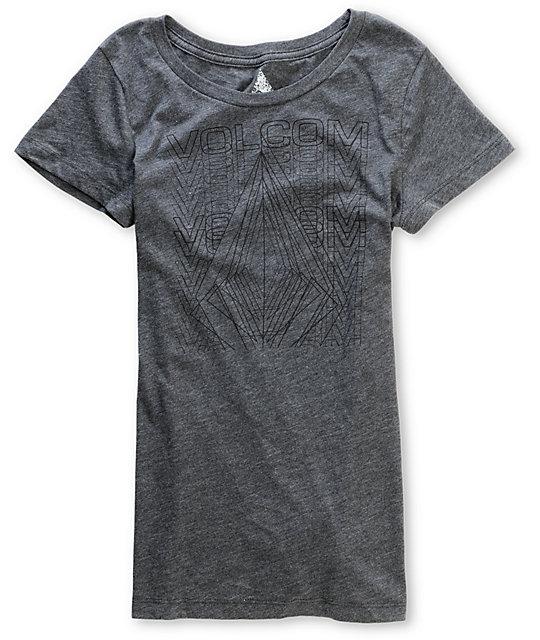 Volcom Lazar Stone Charcoal T-Shirt