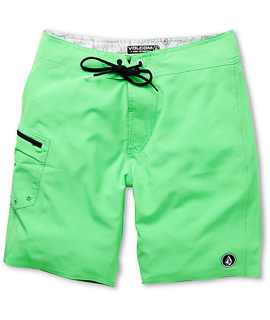 Volcom Lido Green 20 Board Shorts