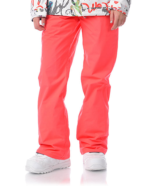 Volcom Logic Red 5K Snowboard Pants At Zumiez : PDP