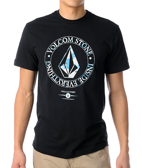 Volcom Lotus Mission Black T-Shirt