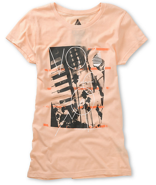Volcom Lovesound Sheer Peach T-Shirt