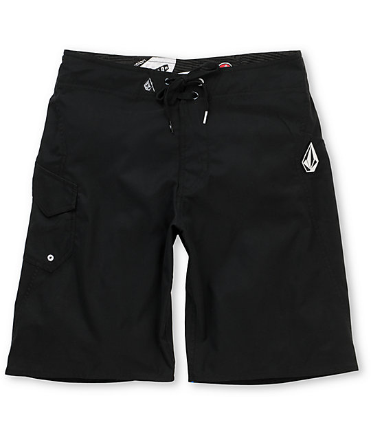 Volcom Maguro Black 21.5 Board Shorts