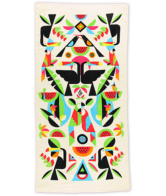 Volcom Malika Beach Towel