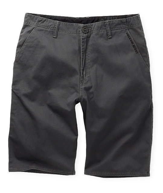 Volcom Mission Academy Charcoal Shorts