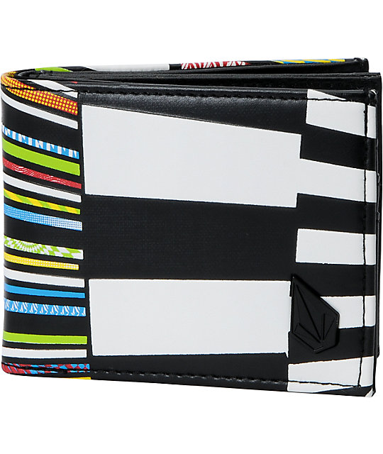 Volcom Mixed Bag Bifold Wallet