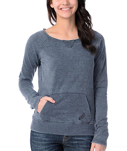 Volcom Moclov Charcoal Pullover Sweatshirt