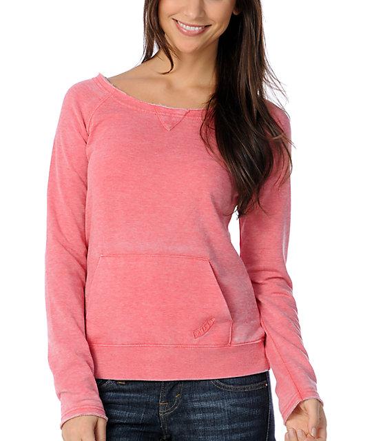 Volcom Moclov Coral Pullover Sweatshirt