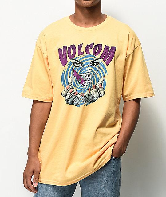 Mystico Camiseta Volcom Mystico Volcom Camiseta Amarilla Volcom Amarilla 0NwkX8nOP
