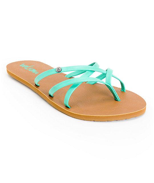 Volcom New School Aqua Sandals