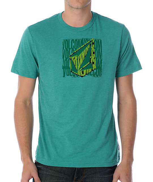 Volcom New Values Green T-Shirt