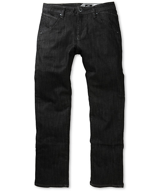 Volcom Nova Black Rinse Regular Fit Jeans