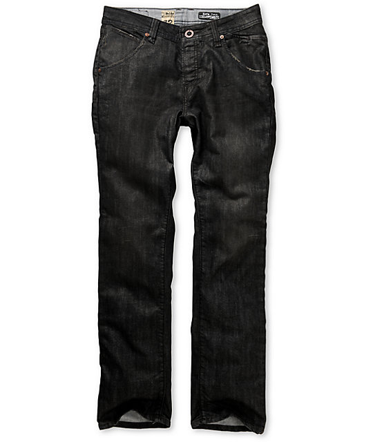 Volcom Nova Worn Black Slim Jeans