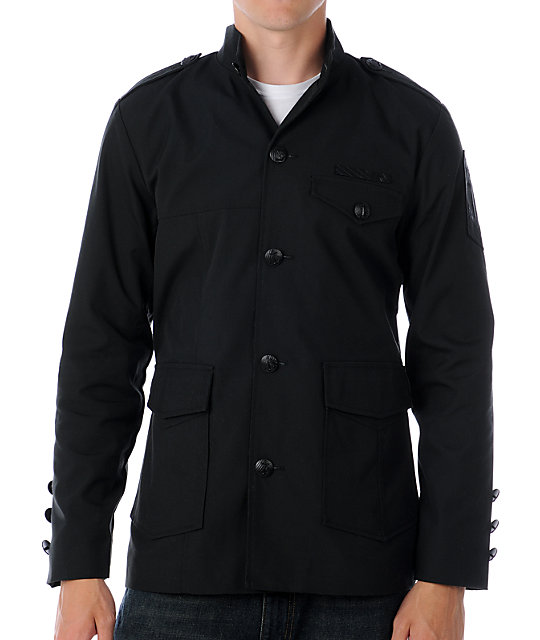 Volcom Officer Black Jacket