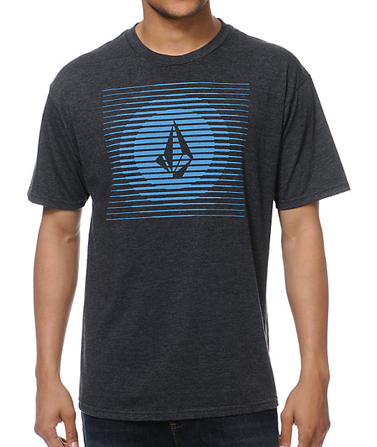 Volcom Opticalli Charcoal T-Shirt