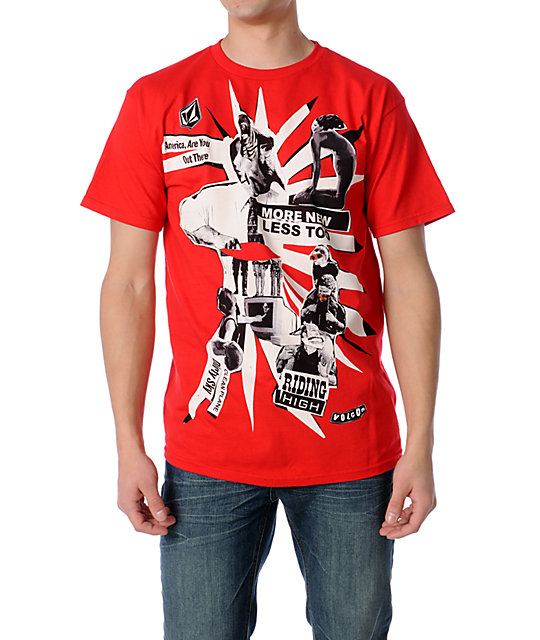 Volcom Out There Collage T-Shirt