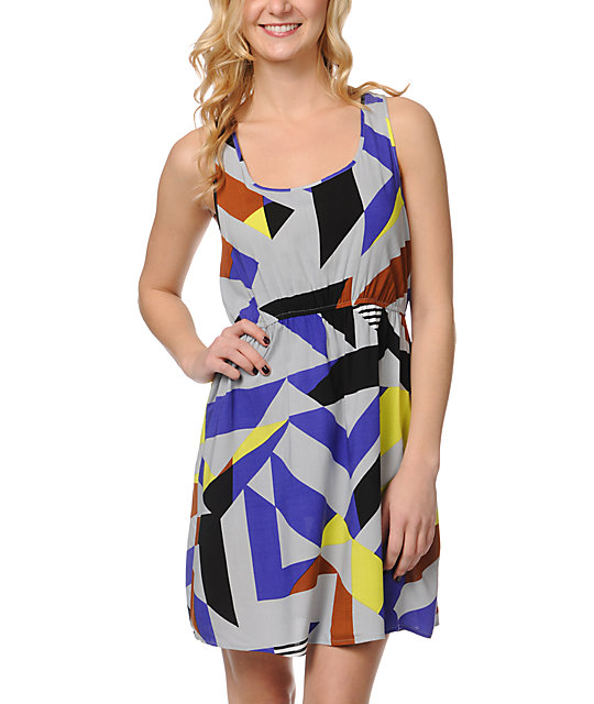 Volcom Radioactive Tank Dress