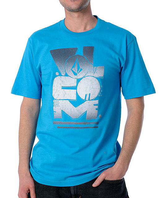 Volcom Ras Retro Royal T-Shirt