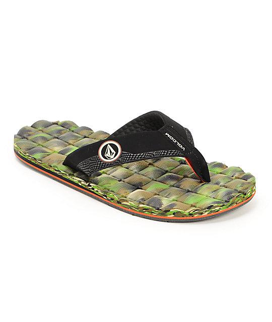 Volcom Recliner Camo Sandals