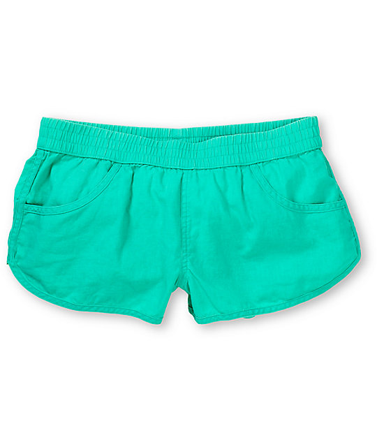 Volcom Ride Easy Turquoise Beach Shorts