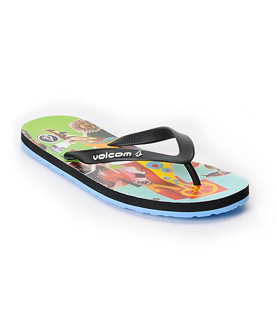 Volcom Rocker Printed Creedler Sandals