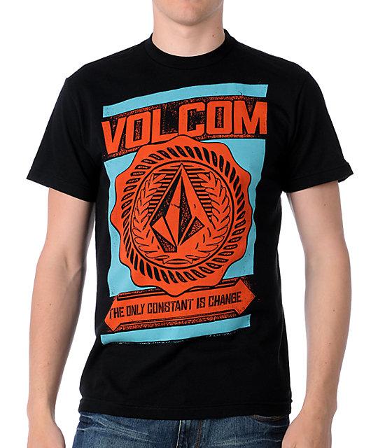 Volcom Rotary Black T-Shirt