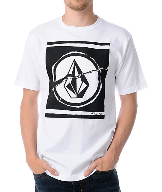 Volcom Rouse White T-Shirt