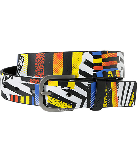 Volcom Sampler A Print Black Belt
