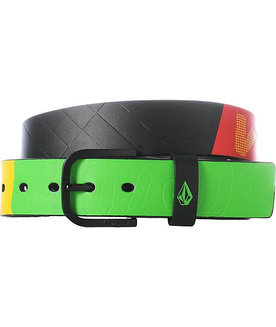 Volcom Sampler B Rasta Belt